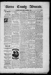 Sierra County Advocate, 11-07-1885 by J.E. Curren