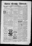 Sierra County Advocate, 11-21-1885 by J.E. Curren