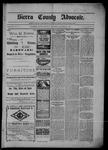 Sierra County Advocate, 12-13-1901 by J.E. Curren