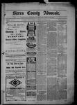 Sierra County Advocate, 12-20-1901 by J.E. Curren