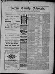 Sierra County Advocate, 01-31-1902 by J.E. Curren