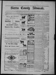 Sierra County Advocate, 04-18-1902 by J.E. Curren