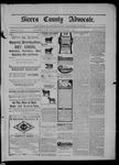 Sierra County Advocate, 07-11-1902 by J.E. Curren