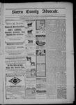 Sierra County Advocate, 08-01-1902 by J.E. Curren