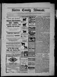 Sierra County Advocate, 08-15-1902 by J.E. Curren