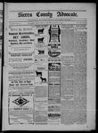 Sierra County Advocate, 08-22-1902 by J.E. Curren