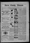 Sierra County Advocate, 08-29-1902 by J.E. Curren