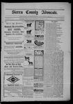 Sierra County Advocate, 09-12-1902 by J.E. Curren