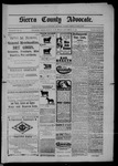 Sierra County Advocate, 09-26-1902 by J.E. Curren