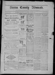 Sierra County Advocate, 11-07-1902 by J.E. Curren