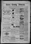 Sierra County Advocate, 11-14-1902 by J.E. Curren