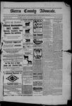 Sierra County Advocate, 12-12-1902 by J.E. Curren