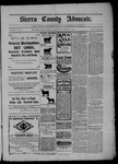 Sierra County Advocate, 01-09-1903 by J.E. Curren