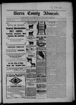 Sierra County Advocate, 01-16-1903 by J.E. Curren