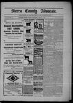Sierra County Advocate, 01-23-1903 by J.E. Curren