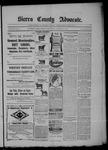 Sierra County Advocate, 02-13-1903 by J.E. Curren