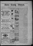 Sierra County Advocate, 02-27-1903 by J.E. Curren