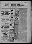 Sierra County Advocate, 03-06-1903 by J.E. Curren