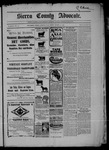 Sierra County Advocate, 03-13-1903 by J.E. Curren