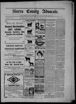 Sierra County Advocate, 03-27-1903 by J.E. Curren