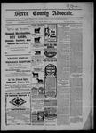Sierra County Advocate, 04-03-1903 by J.E. Curren