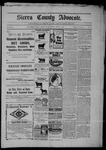 Sierra County Advocate, 04-10-1903 by J.E. Curren