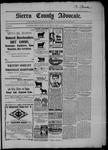 Sierra County Advocate, 04-17-1903 by J.E. Curren
