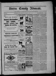 Sierra County Advocate, 04-24-1903 by J.E. Curren