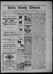 Sierra County Advocate, 05-01-1903 by J.E. Curren