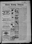 Sierra County Advocate, 05-08-1903 by J.E. Curren