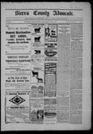 Sierra County Advocate, 07-03-1903 by J.E. Curren