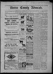 Sierra County Advocate, 07-17-1903 by J.E. Curren