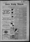 Sierra County Advocate, 07-31-1903 by J.E. Curren