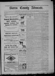 Sierra County Advocate, 08-28-1903 by J.E. Curren