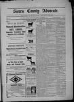 Sierra County Advocate, 09-04-1903 by J.E. Curren