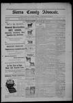 Sierra County Advocate, 10-09-1903 by J.E. Curren