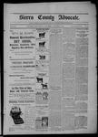 Sierra County Advocate, 11-06-1903 by J.E. Curren