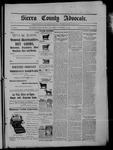 Sierra County Advocate, 11-13-1903 by J.E. Curren