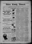 Sierra County Advocate, 11-20-1903 by J.E. Curren
