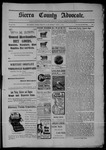 Sierra County Advocate, 04-01-1904 by J.E. Curren