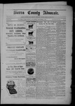 Sierra County Advocate, 09-09-1904 by J.E. Curren