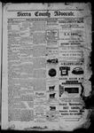 Sierra County Advocate, 01-20-1905 by J.E. Curren