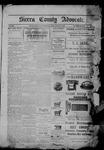 Sierra County Advocate, 01-27-1905 by J.E. Curren