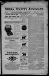 Sierra County Advocate, 03-24-1905 by J.E. Curren