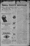 Sierra County Advocate, 04-07-1905 by J.E. Curren