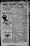 Sierra County Advocate, 04-14-1905 by J.E. Curren
