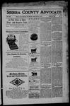 Sierra County Advocate, 04-21-1905 by J.E. Curren