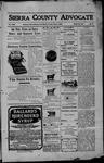 Sierra County Advocate, 05-05-1905 by J.E. Curren