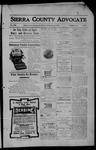 Sierra County Advocate, 05-12-1905 by J.E. Curren