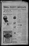 Sierra County Advocate, 05-19-1905 by J.E. Curren